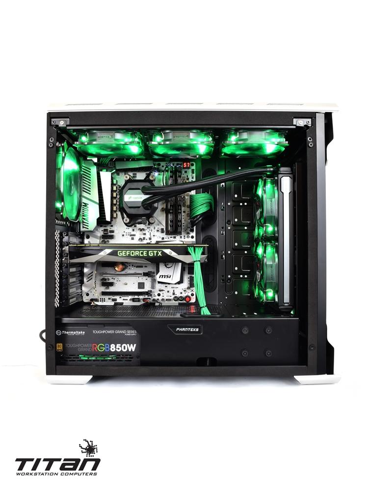 Titan A175 VENOM - Overclocked 3.85GHz AMD RYZEN 7 1700X 8 ...
