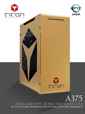 Titan A375 - Dual CPUs AMD Opteron Abu Dhabi 6300 Series HPC Workstation PC Up to 32 cores