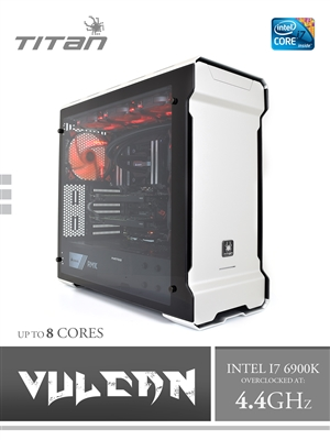 X199 VULCAN 8 - Overclocked 4.4GHz Intel Core i7-6900K 8 Cores Workstation
