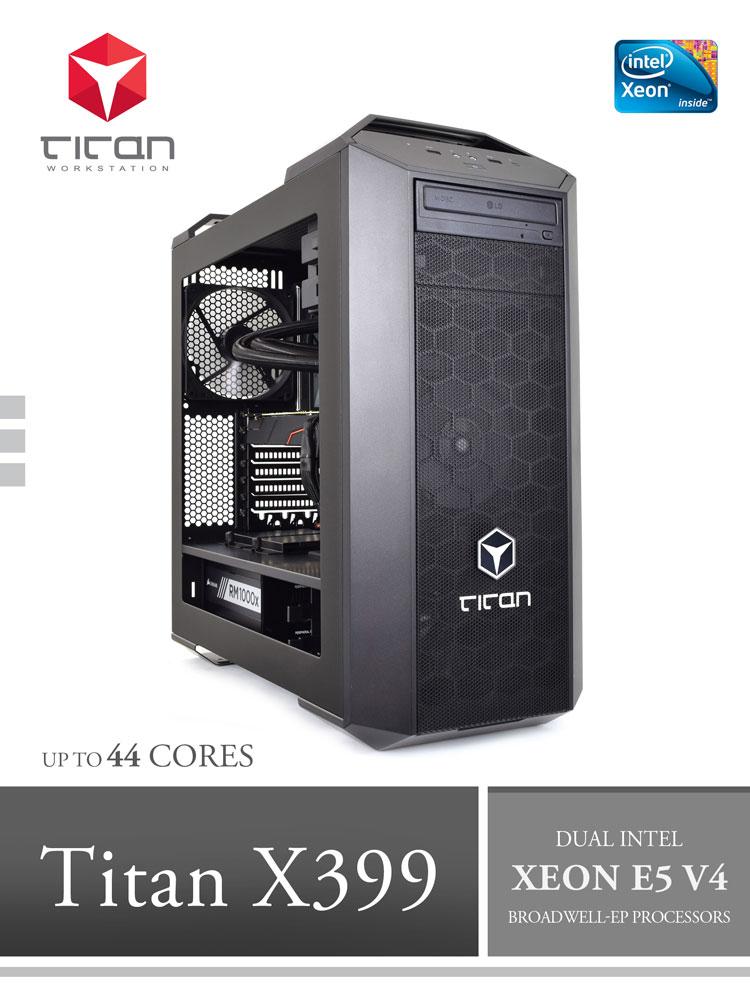Titan X399 Dual Intel Xeon E5 V4 Broadwell Ep