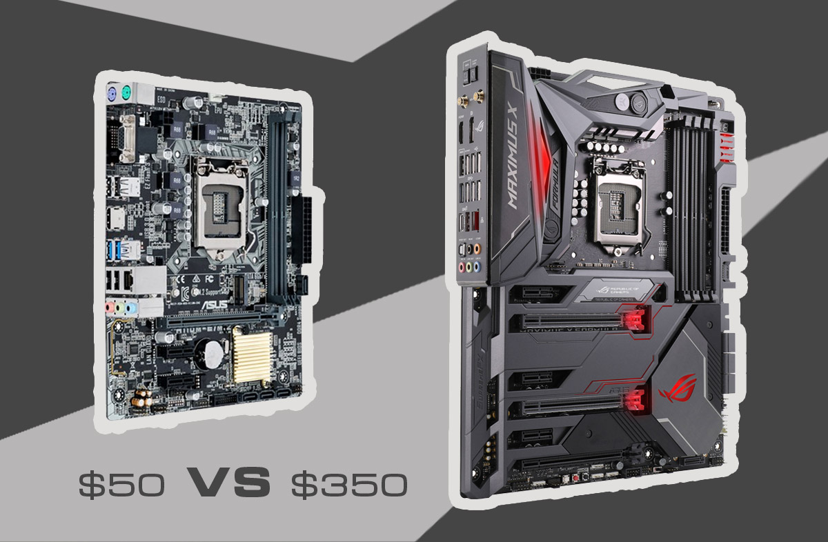What's the Difference Between a $50 Motherboard and a $350 Motherboard?