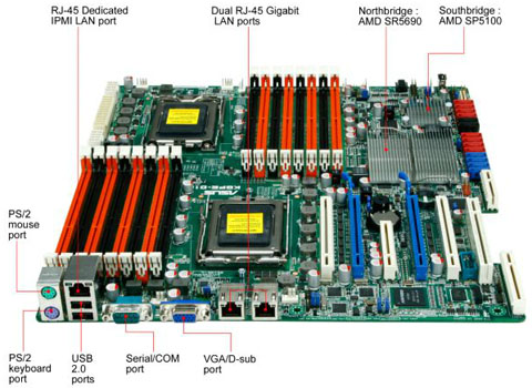The ASUS KGPE-D16 Dual Opteron Motherboard - Heart of a
