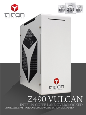 Z490 VULCAN - Intel i7 & i9 Comet Lake All Cores Sync Overclocked  / CAD Design Workstation Computer