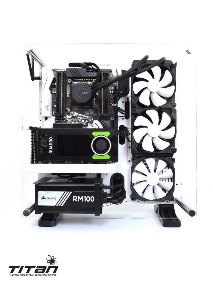 X199 RapidCAD - Intel Xeon E5 1600 V4 Broadwell-EP, CAD/CAM Workstation PC  w/ Nvidia SLI Mode & up to 8 Cores